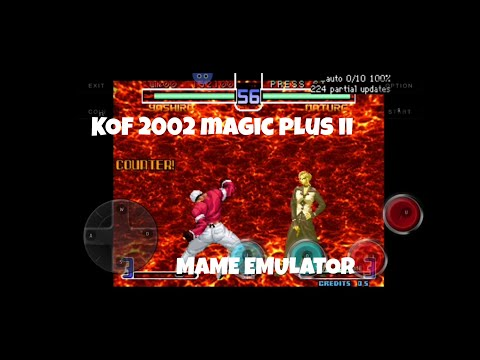 Kof 2002 Magic plus ll Android Using Mame4droid & Octopus (NOOB GAMEPLAY) - 동영상