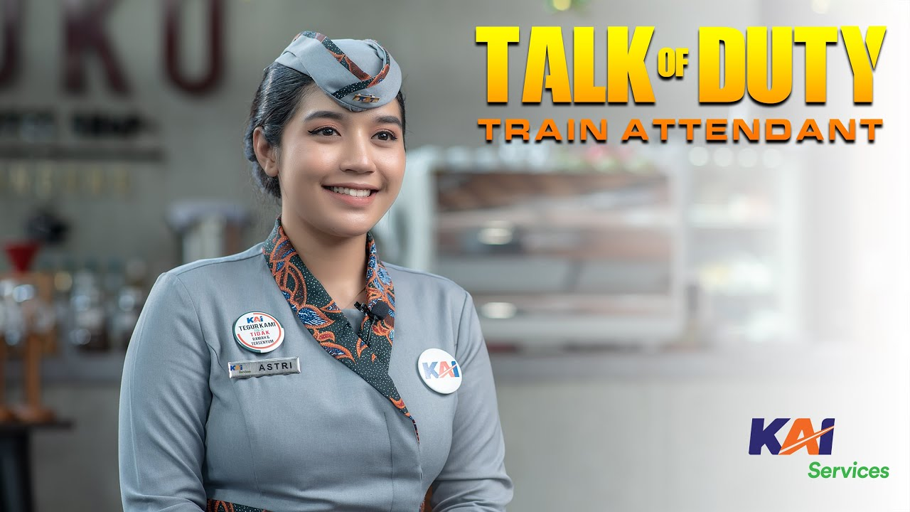 Download TALK OF DUTY - Episode Pramugari Kereta Api