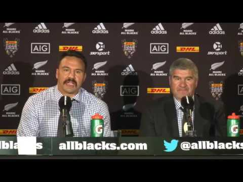 New Zealand Maori media briefing after loss to N&I Lions