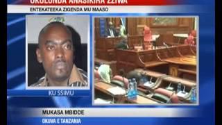 Okusikira Zziwa: Ababaka basiibye mu kafubo e Tanzania thumbnail