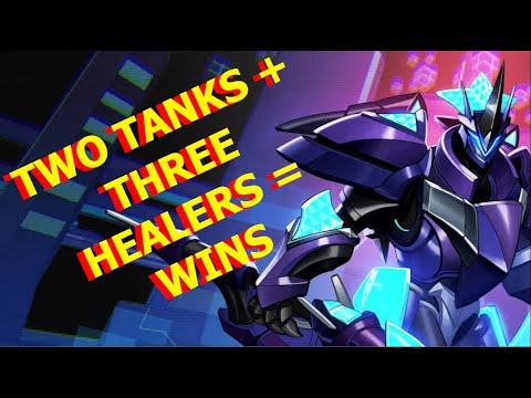 TWO TANKS + THREE HEALERS = WINS - FERNANDO GAMEPLAY - PALADINS AND CHILL