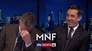 Gary Neville suggests Man United should rest players against Man City! | MNF Q&A thumbnail