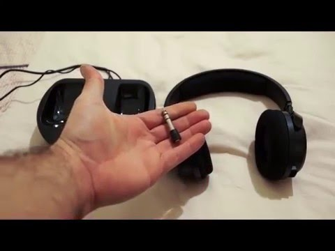 Thomson WHP3001BK Wireless Headphones - Review - YouTube 7b94fc7d14