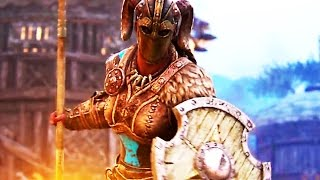 FOR HONOR The Valkyrie Trailer (Viking Gameplay)