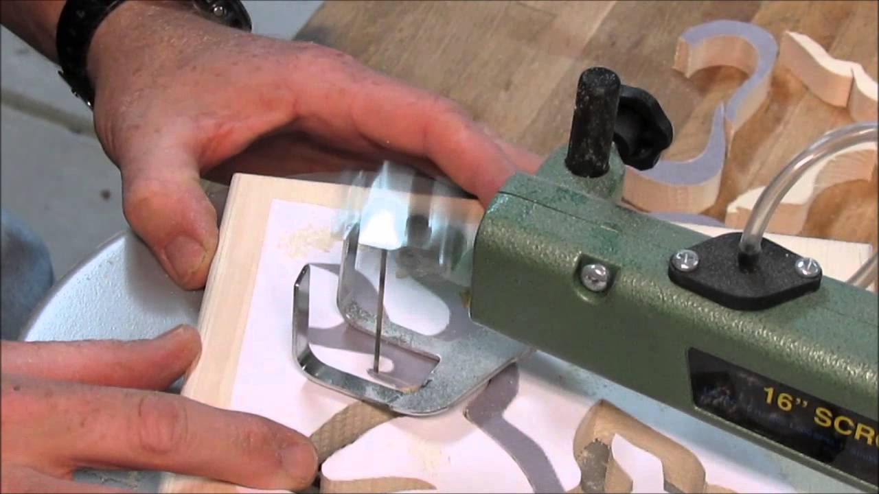 Small hand saw for crafts - Scrap To Craft Scroll Saw Project