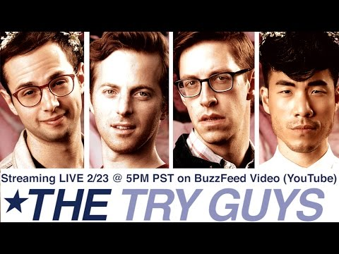 The Try Guys React To Their New Show - Squad Wars (LIVE)