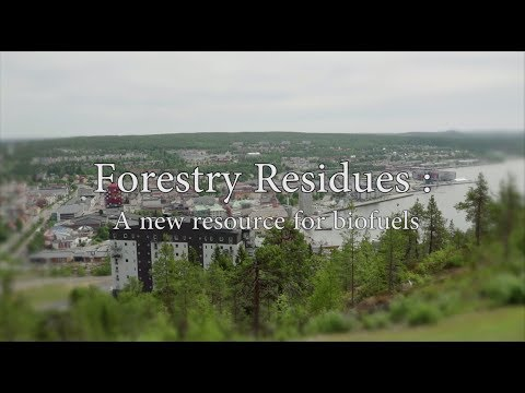 GLOBAL BIOENERGIES: Forestry residues - a new resource for biofuels