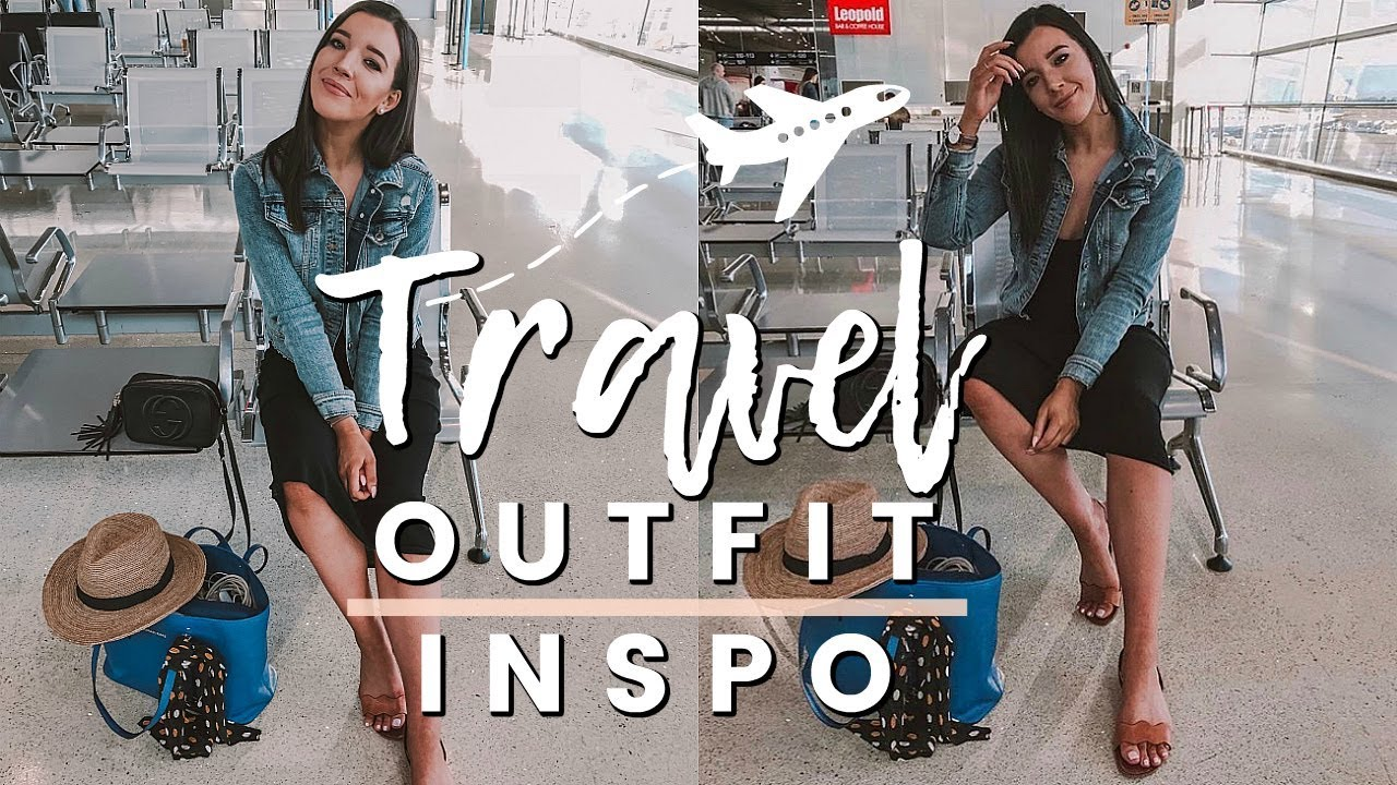 69cc25b218 SUMMER TRAVEL OUTFIT IDEAS 2018 | HOW TO LOOK CUTE AT THE AIRPORT ...