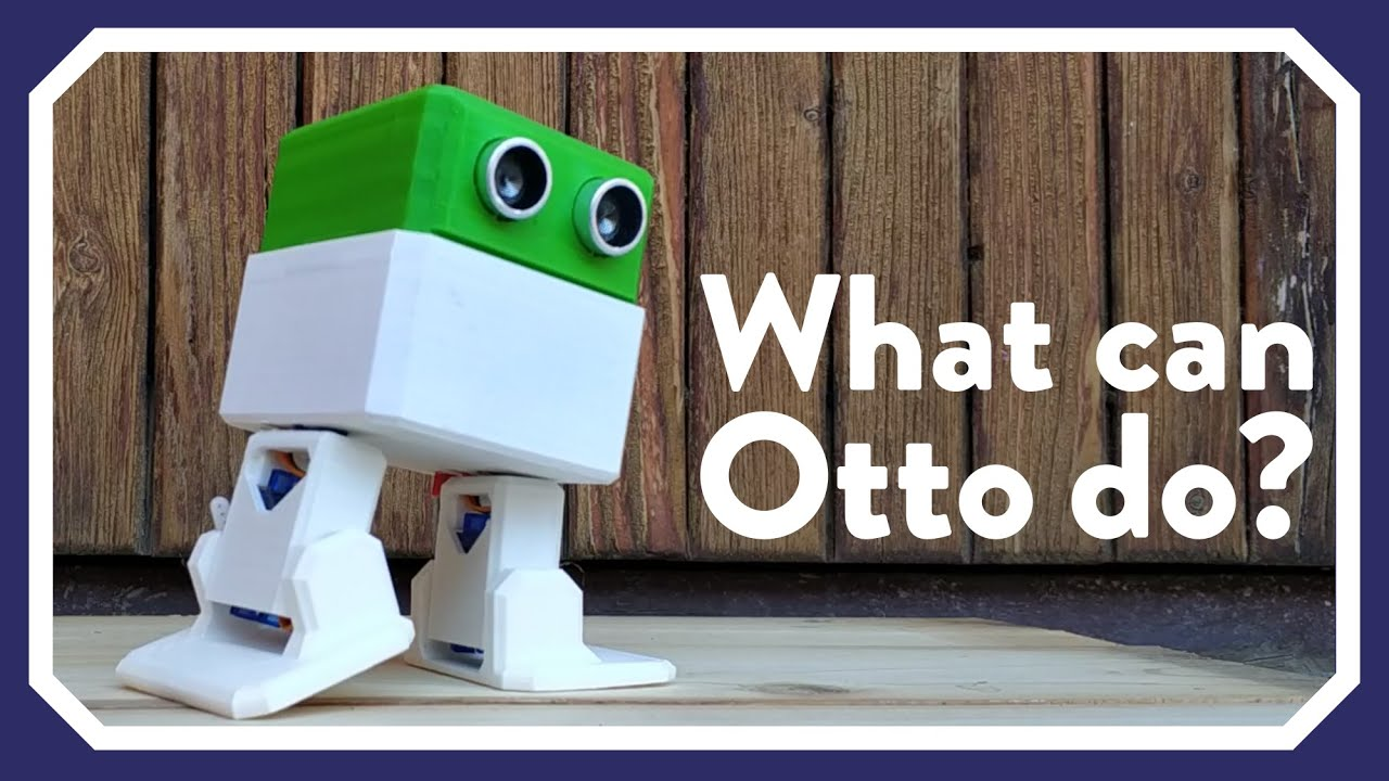 Otto DIY - Build Your Own Robot in One Hour!: 10 Steps (with Pictures)