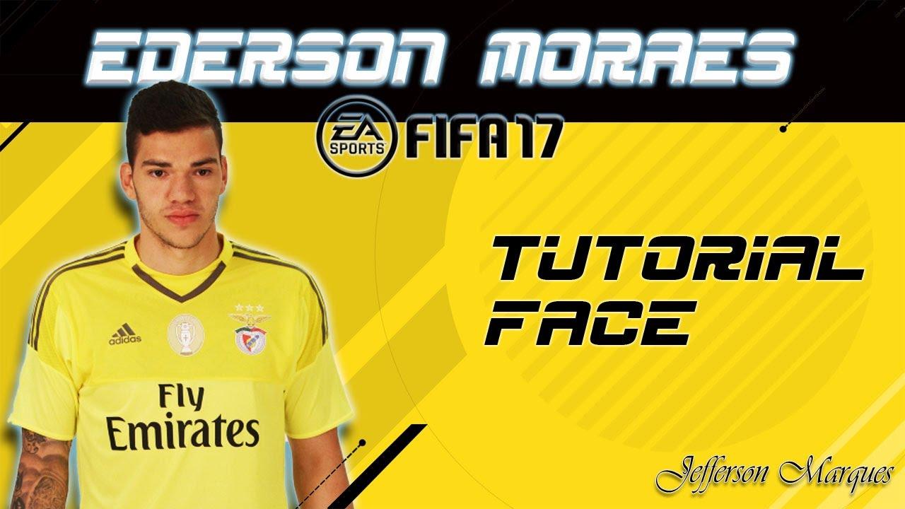 Ederson Moraes Face Tutorial Fifa 17 Virtual Pro Lookalike
