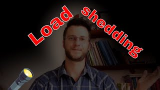Load shedding is a loss on all sides