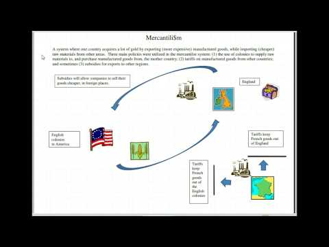 mercantilism american revolution and colonies