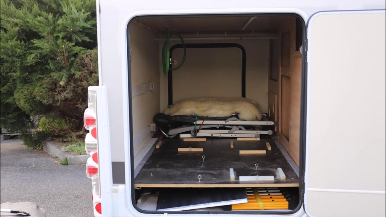 beladung wohnmobil garage youtube. Black Bedroom Furniture Sets. Home Design Ideas