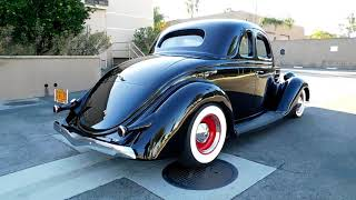 1936 Ford 5 Window Coupe All Henry Steel Resto-Rod (SOLD)