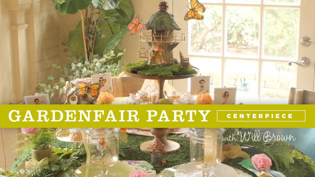 Merveilleux How To Create A Magical Centerpiece For A Fairy Garden Party