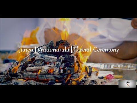 Janeu ⎮Vratamanda ⎮Thread Ceremony ⎮Brisbane ⎮Sunaya