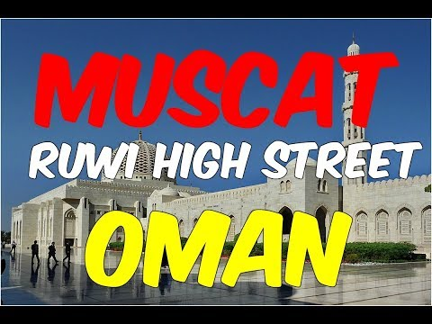 THIS IS WHY I LOVE OMAN - Exploring Ruwi High Street Muscat