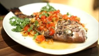 Fish Recipes Veracruz Grilled Whole (stove Bbq Summer) || Kin Eats
