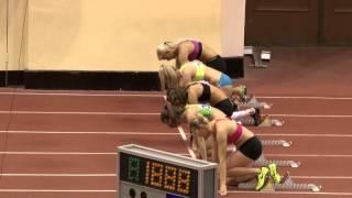 5-борье. 60м с барьерами. Чемпионат и первенства по многоборью (06.01.2013).