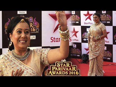Bhabho Shows Off New Avatar   Star Parivaar Awards 2016   Diya Aur Baati Hum