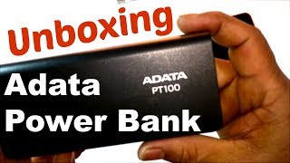 Unboxing Awesome Adata PT100 Power Bank