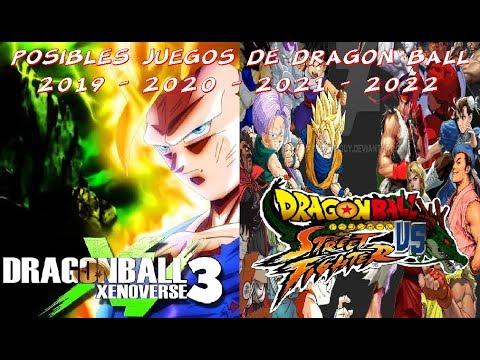 Proximos Juegos De Dragon Ball 2019 2020 2021 2022