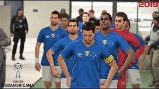 PES 2019 | Copa Libertadores Cuartos | Cruzeiro Esporte vs Boca Juniors | Gameplay PS4