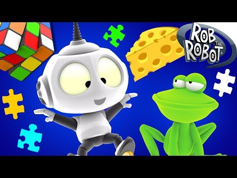 Cartoon | Around the Galaxy #1 - Rob The Robot | Space Cartoons For Children