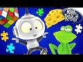 Cartoon   Around the Galaxy #1 - Rob The Robot   Space Cartoons For Children