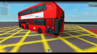Roblox London Hackney & Limehouse bus simulator a ride on NB4L Borismaster Stagecoach London Route 8
