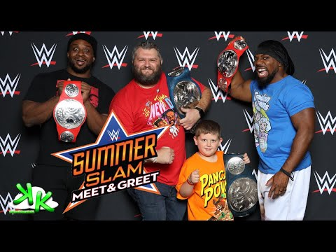 WWE Summerslam Meet And Greet Toronto - Meeting The New Day And Many More