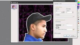 Mudando o fundo da foto no photofiltre studio x