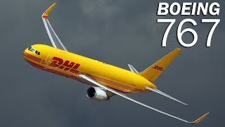 Boeing 767 - the first Boeing wide-body twinjet. History and description