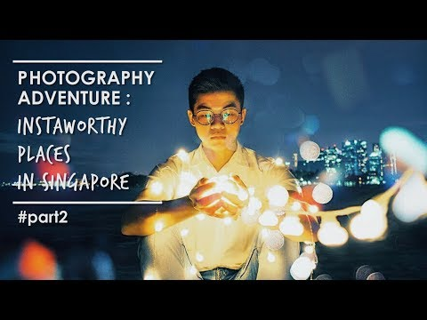 VLOG   Photography Adventure: Instaworthy Places in Singapore - Part2
