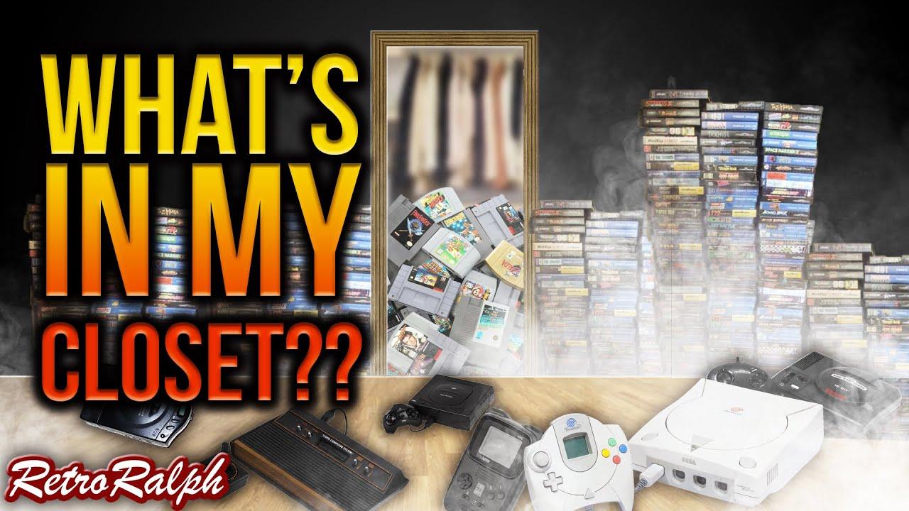 What's in Retro Ralph's Closet?