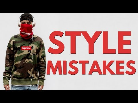 10 Biggest Style Mistakes Young Men Make