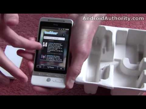 HTC Hero / T-Mobile G2 Touch unboxing