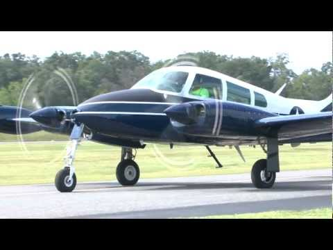 Cessna 310 ride #2 at KFRR 9/8/12