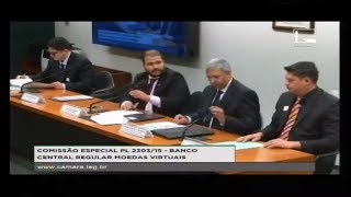 PL 2303/15 - BANCO CENTRAL REGULAR MOEDAS VIRTUAIS - Reunião Deliberativa - 13/09/2017 - 14:34
