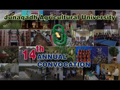 14th Annual Convocation of Junagadh Agricultural University (JAU)
