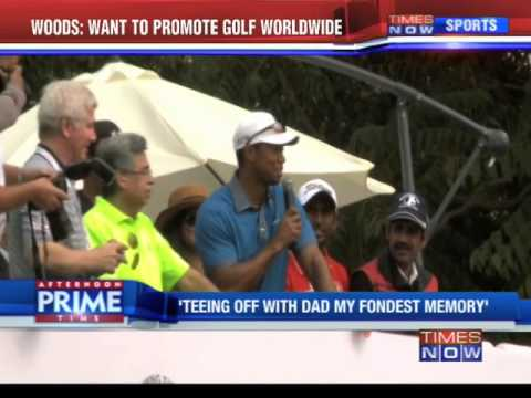 Tiger Woods: Want to promote golf worldwide