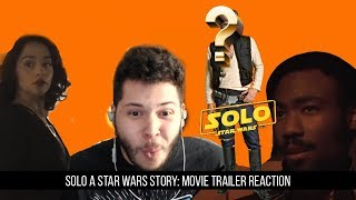 Solo: A Star Wars Story -Teaser Trailer Reaction!!!