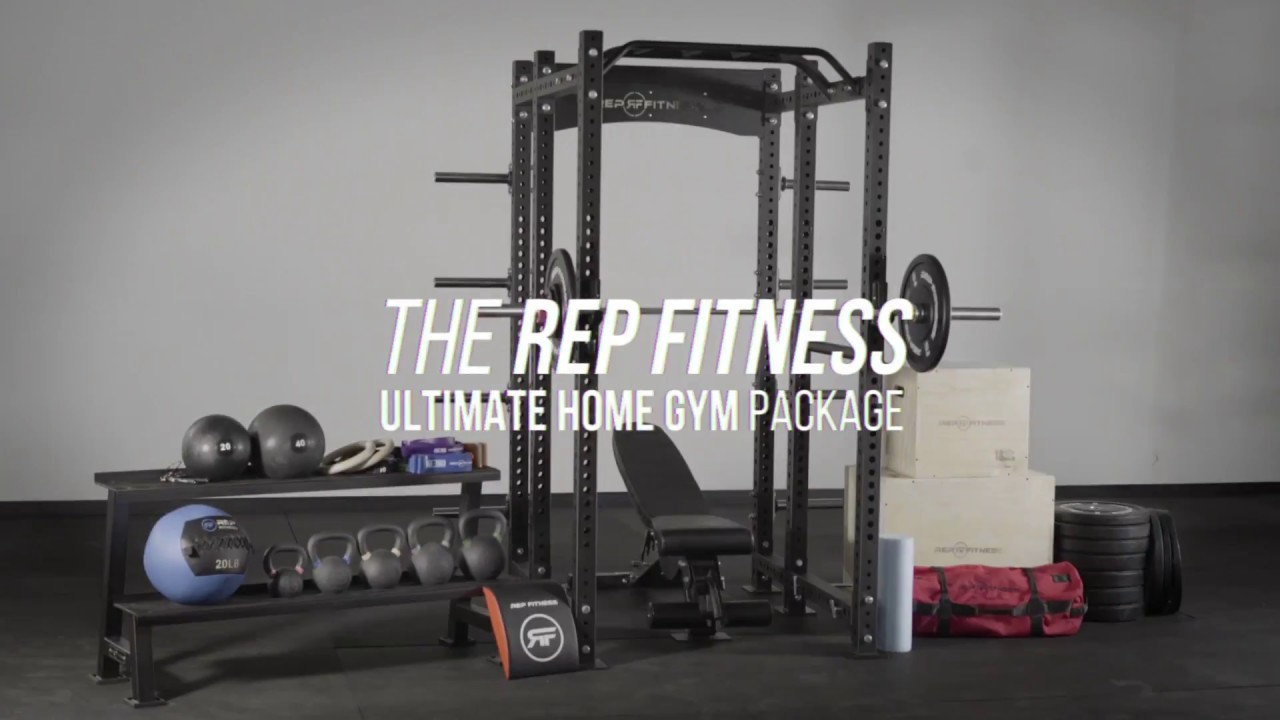 Rep fitness ultimate home gym package youtube