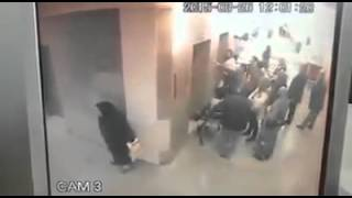 Hastane ortasına sıçan teyze