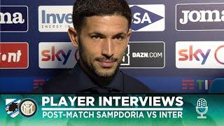 SAMPDORIA 1-3 INTER | SENSI + BASTONI + GAGLIARDINI INTERVIEWS [SUB ENG]