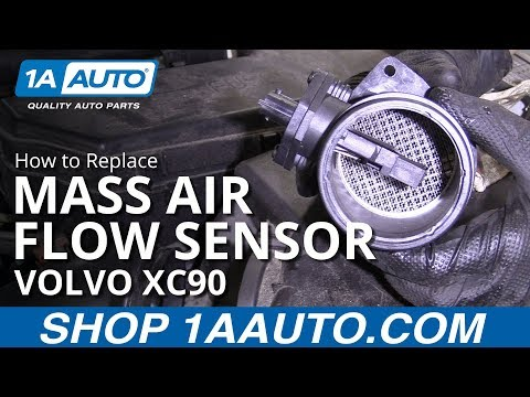 How to Replace Mass Air Flow Sensor 03-06 Volvo XC90