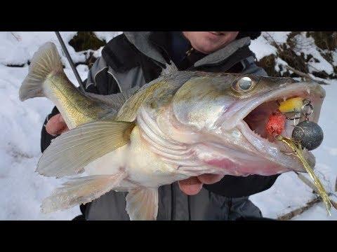 Ловля на джиг с берега на реке - Рыбалка на спиннинг