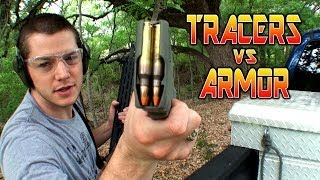 Will Body Armor Coating Snuff Out a Tracer?