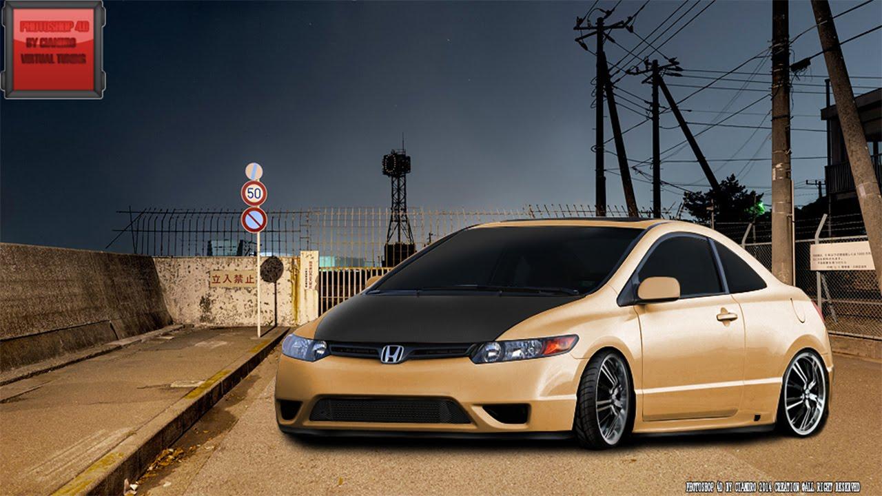 Virtual Tuning 103 Honda Civic Coupe Photo Hd