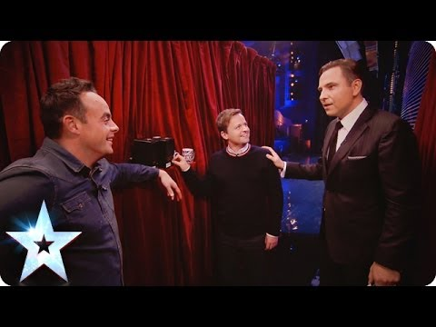 Ant and Dec can hear everything!  Britains Got More Talent 2014